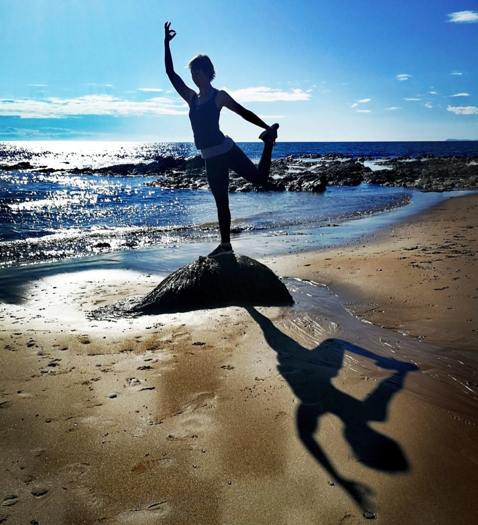 Peaceful Kintyre: the perfect place to practice yoga