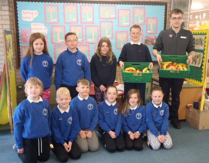 Campbeltown Co-op contributes Castlehill fruit