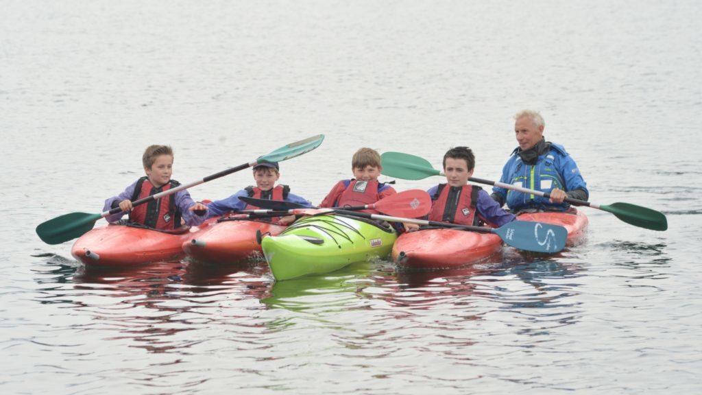 Kintyre Seasports Project anchored