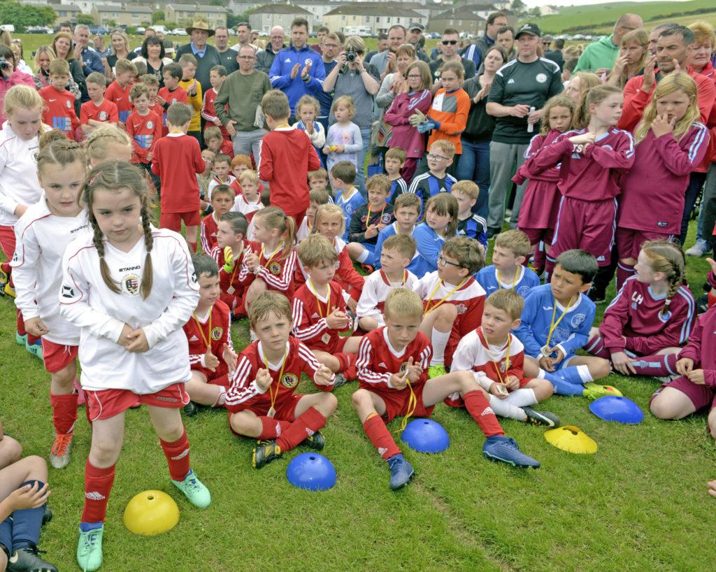 Football festival fever made Meadows memories