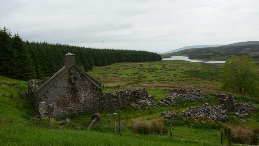 Walk with the Courier: High Lossit to Killypole