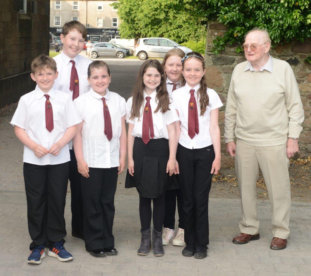 Drumlemble primary's choir cup winners