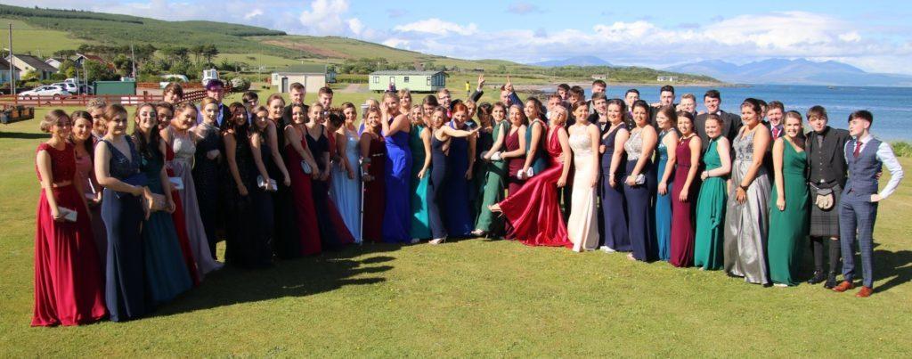 Campbeltown Grammar School's class of 2018