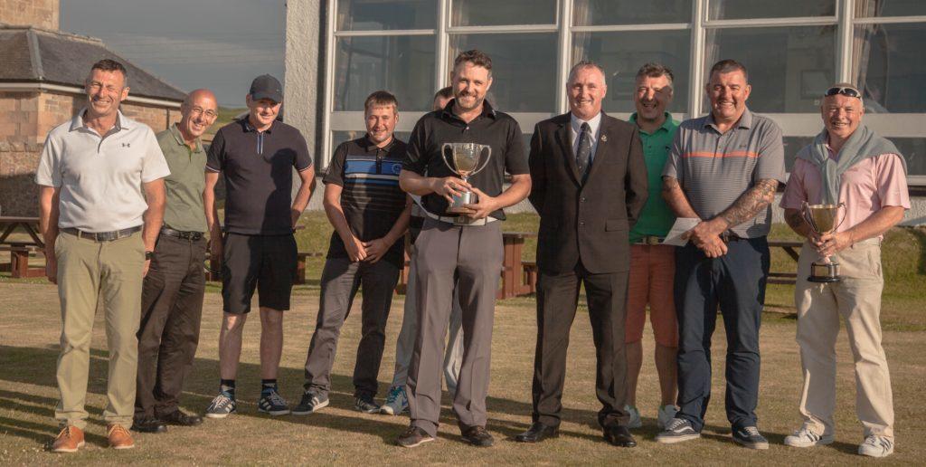 'Thrilling' tie at Machrihanish golf championships
