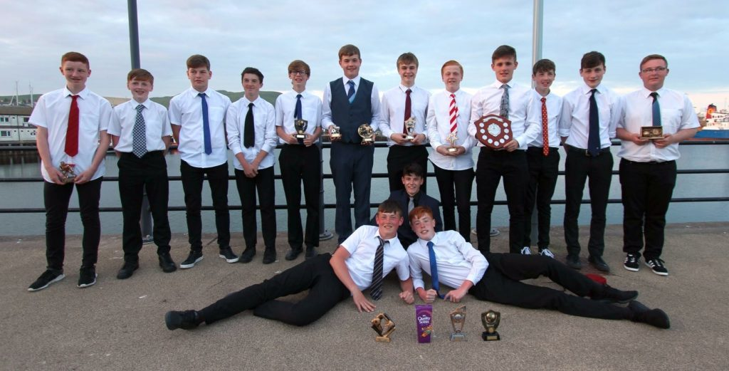 Prize-winning Pupils celebrate successful year