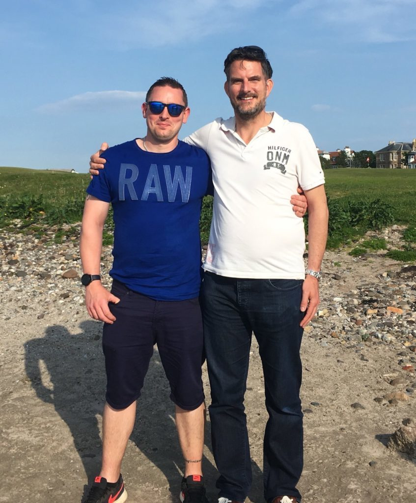 Devon man meets Argyll donor who saved his life