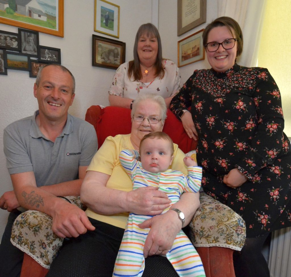 Family's five generations stem from Gigha