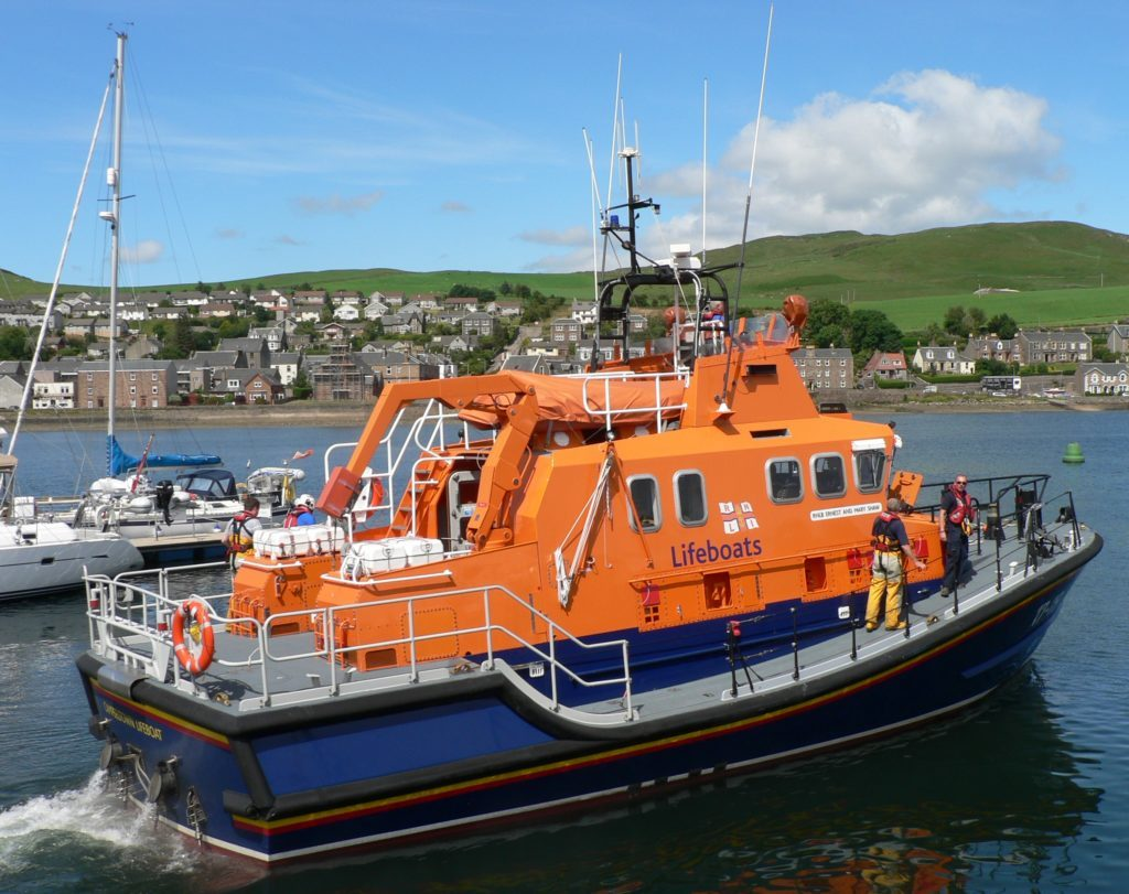 Lifeboat call-outs to cargo vessel, rib and inflatable dinghy
