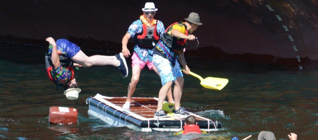 Campbeltown's wacky raft racers