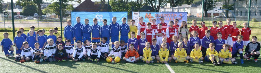 Castlehill champions win Millennium cup