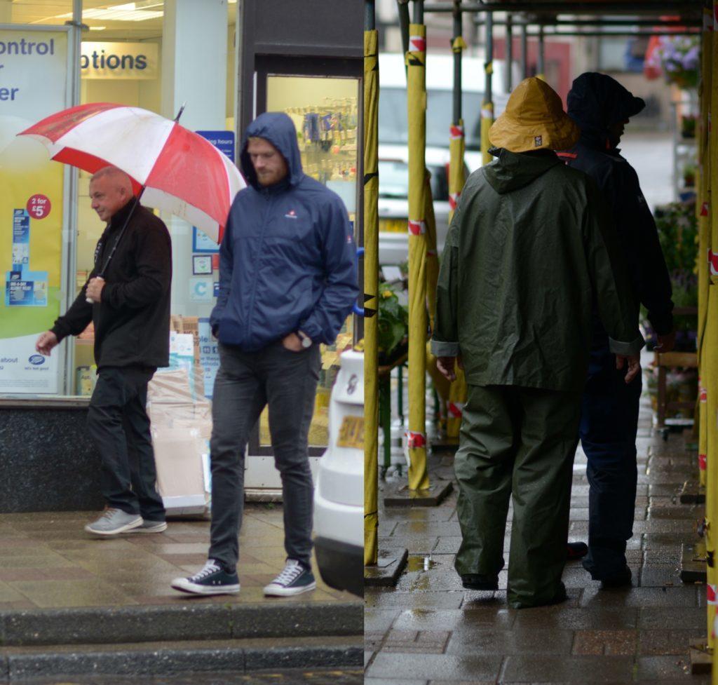 Rain ends historic dry spell