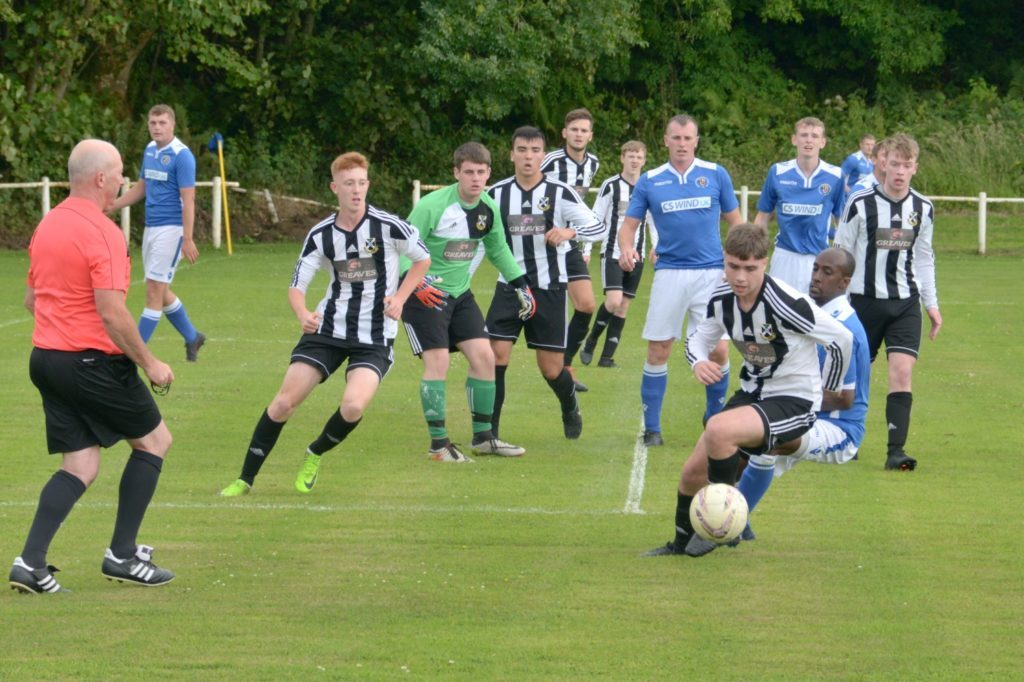 Vintage football on show as both sides impress