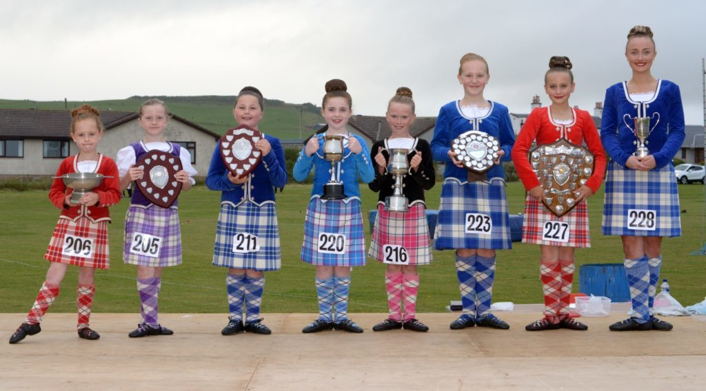Dancers delighted at Southend Highland Games