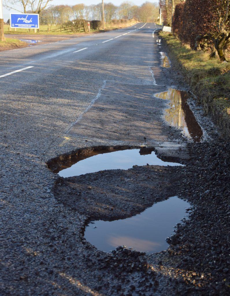Islay's crumbling roads need fixing