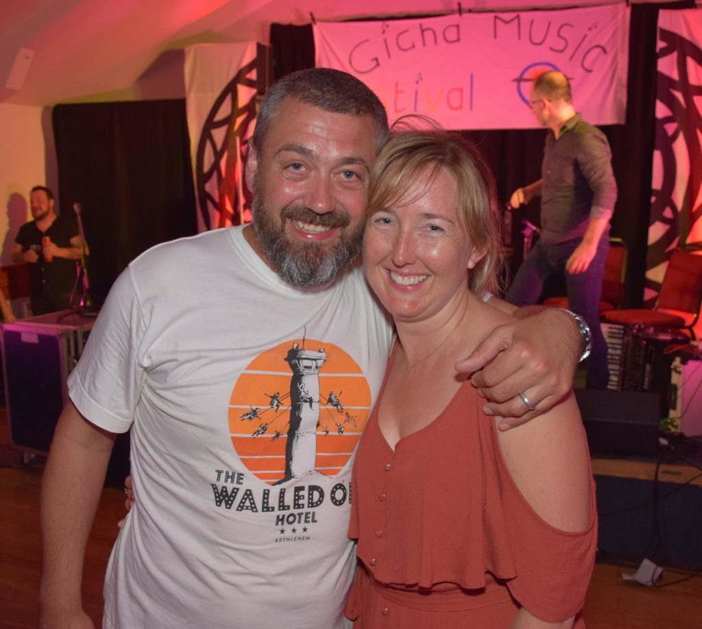Gigha Music Festival completes couple's dream wedding