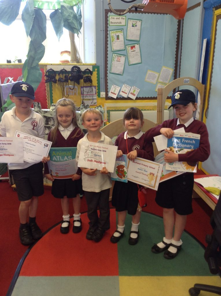 Southend primary prize-giving