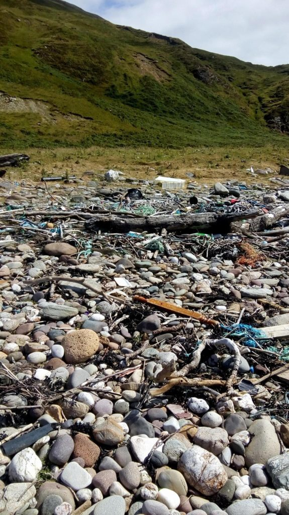 Mighty mission to restore Innean bay's beauty