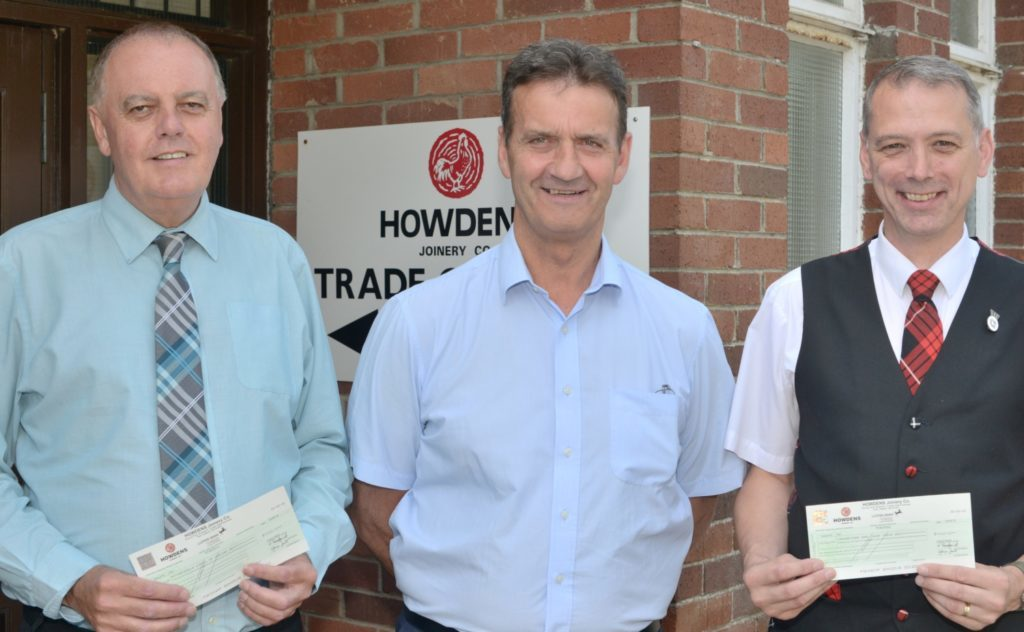 Kitchen firm whisks up charity cash