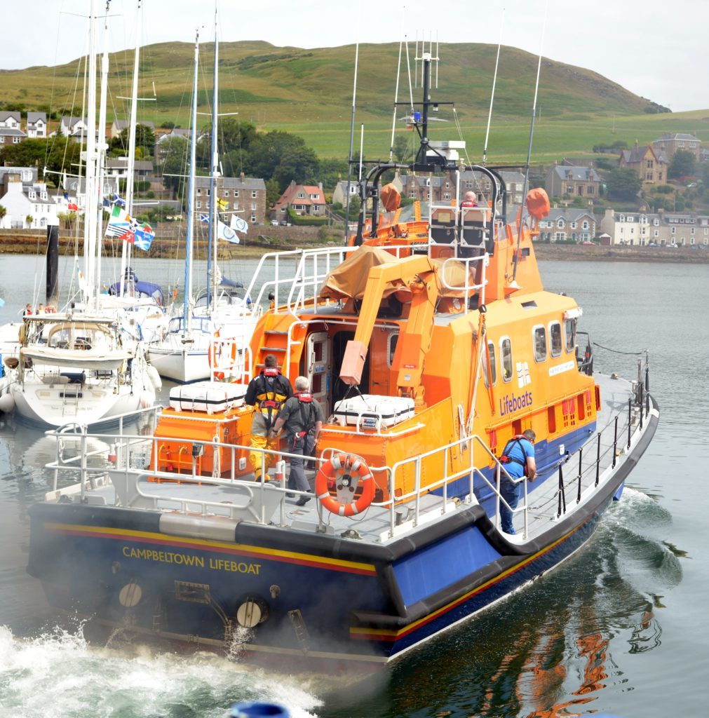 Becalmed yacht crew rescued after mayday call