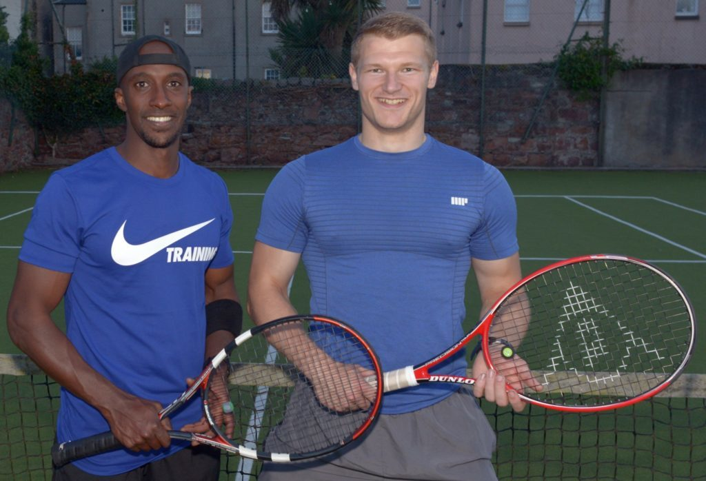 Doubles duo defy the odds in a smashing win