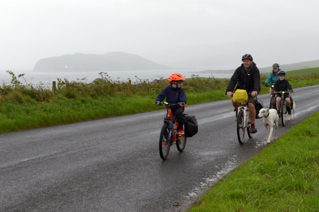Lurchers lap up Argyll cycle tour