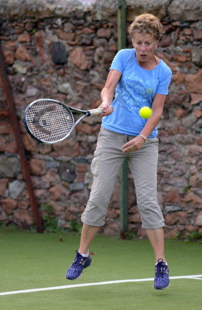 Juniors coach is ladies singles champion