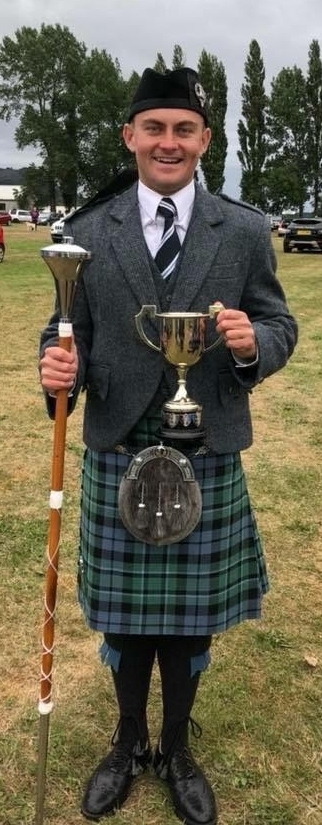 Campbeltown's Scottish champion drum major