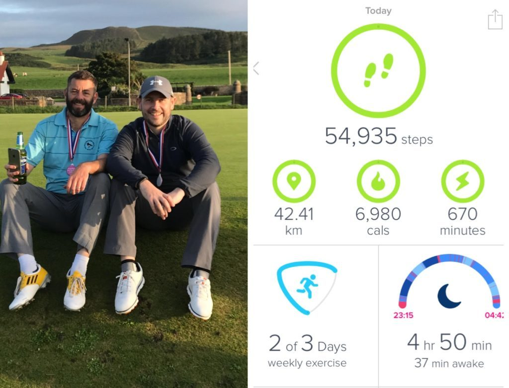 Golf charity challenge – 72 holes in a day