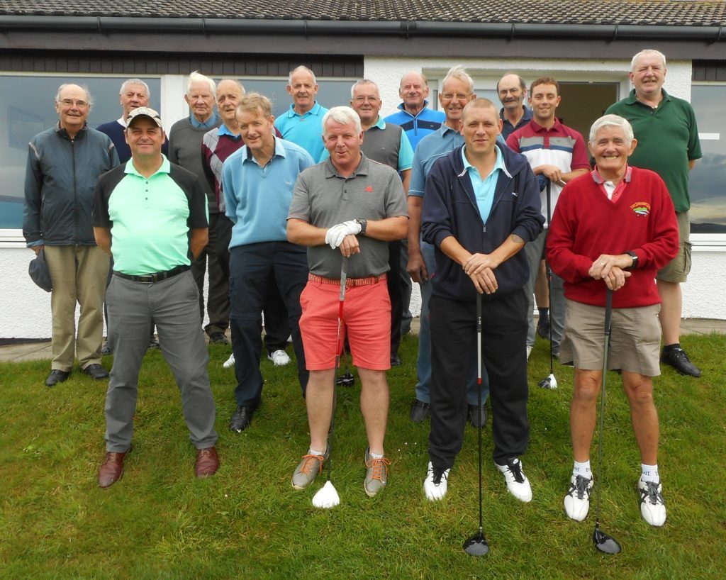 Veteran golfer takes memorial trophy