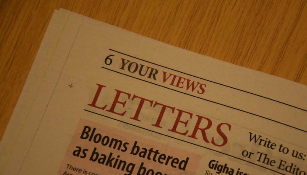 Campbeltown Courier letters to the editor – week 42