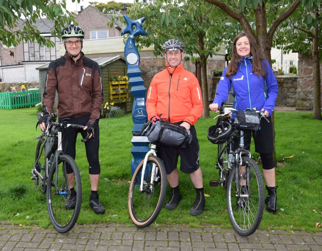 Disability writer sets out on cycling mission from Campbeltown