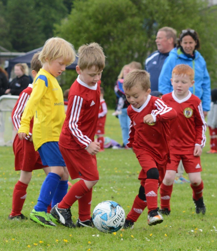 Supermarket bags boost youth football