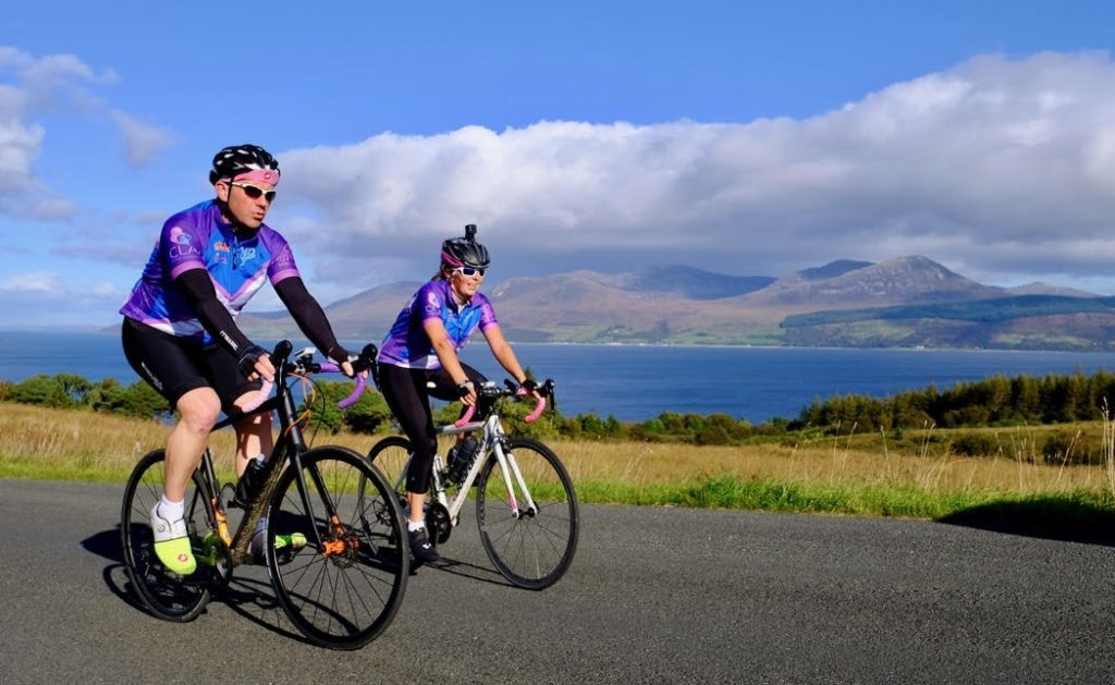 Scotland cyclist fuelled by tasty Skipness scallops