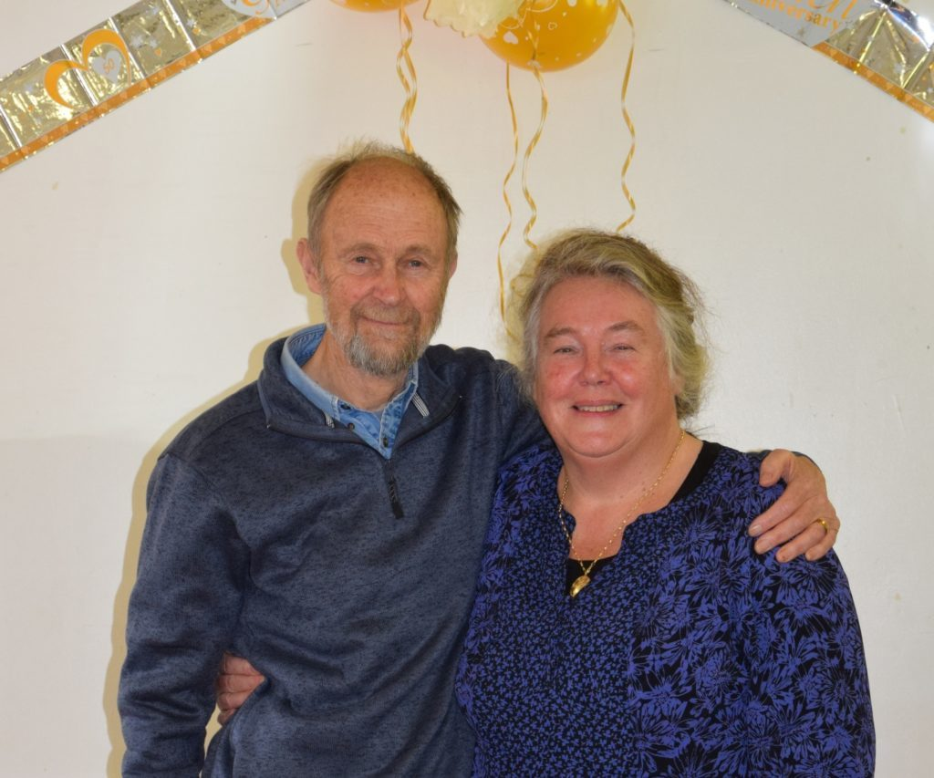 Golden couple's Cornish Clachan celebration
