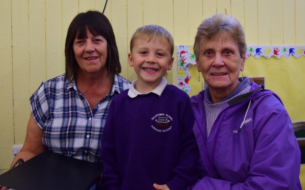 Grandparents' day delights at Dalintober