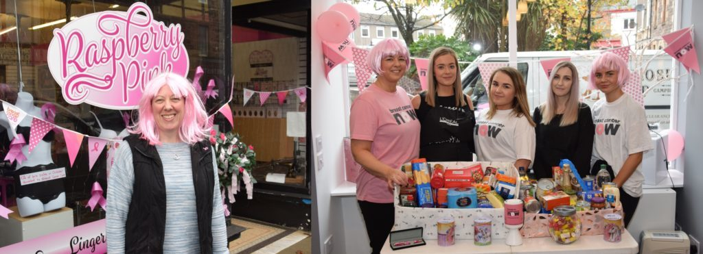 Charity crusaders think pink