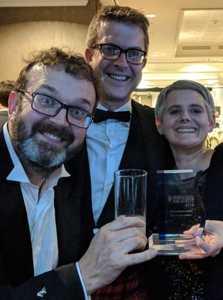 Kintyre distillers' Inverness gin win