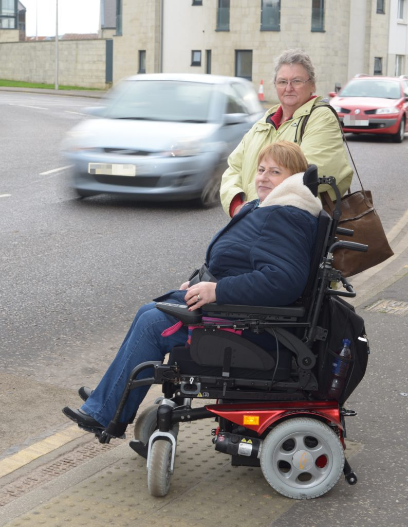 Wheelchair using MS sufferer seeks safe crossing