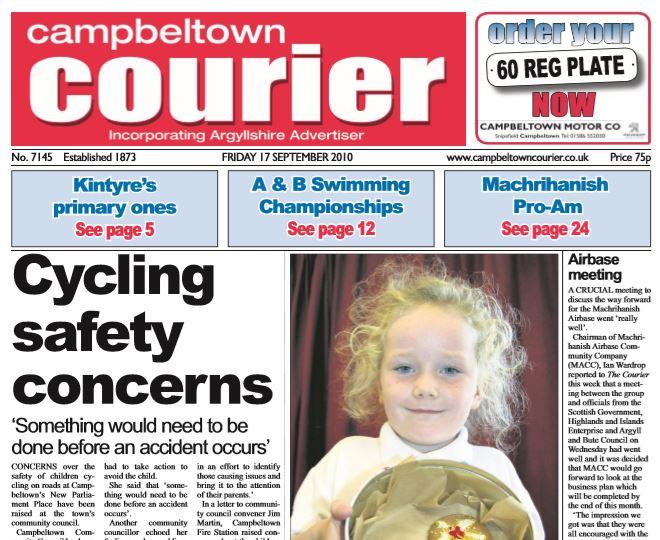 Campbeltown Courier PDF Archive 2010