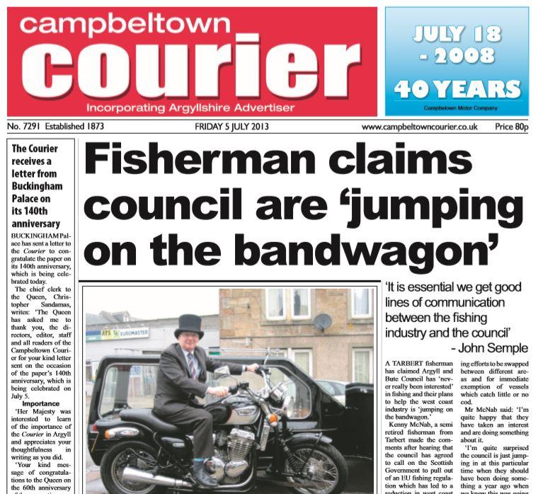 Campbeltown Courier PDF Archive 2013