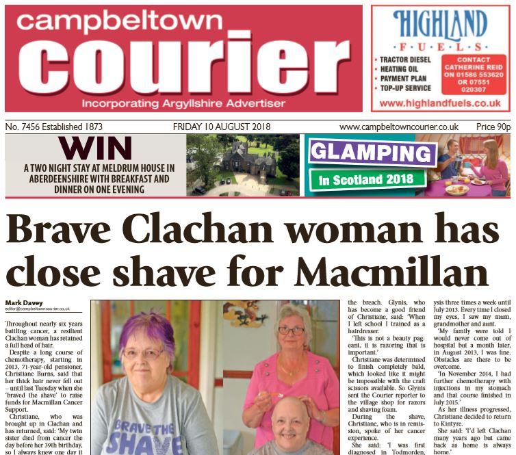 Campbeltown Courier PDF Archive 2018