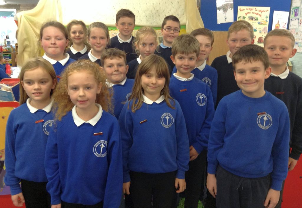 Pupil council promotes an apple a day