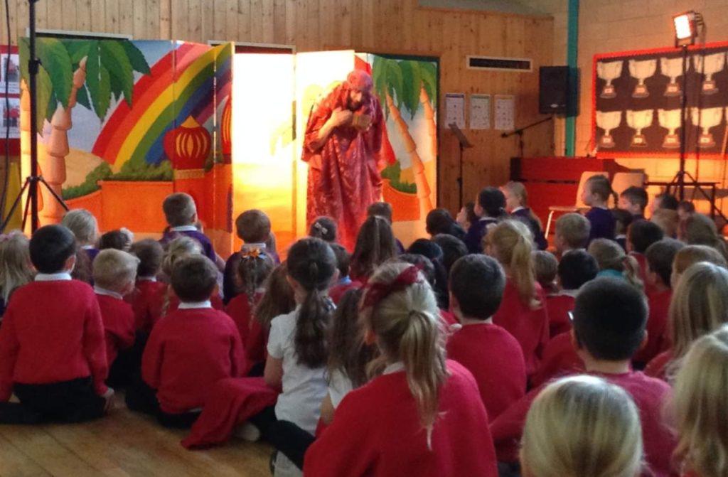 School pupils' theatre treat