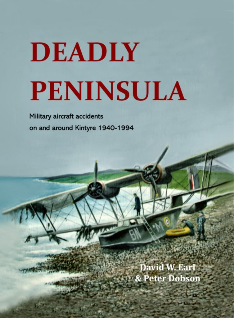 Kintyre air accidents book coming soon