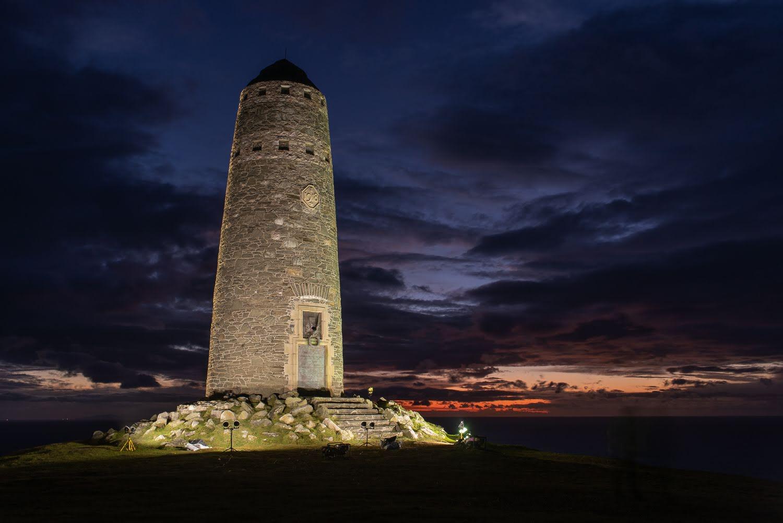 Islay's illuminated monument