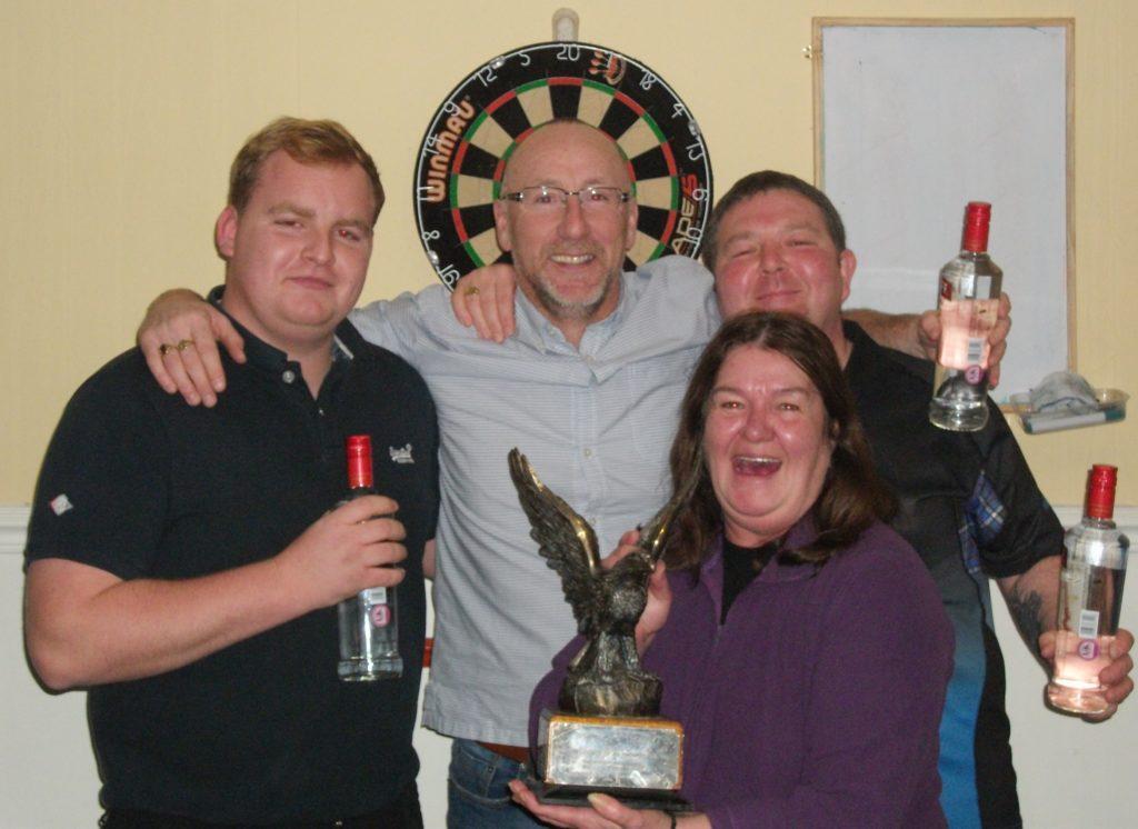 Burnside's darts' team retains trophy