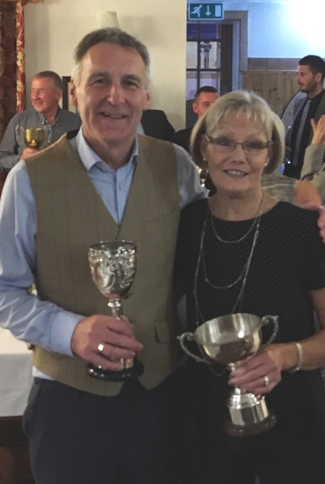 Golfers' dinner and prizegiving