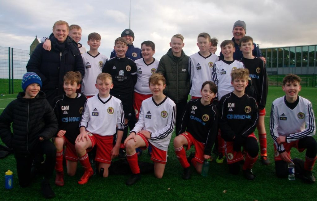 Drumchapels U14s' Campbeltown show for Lennon
