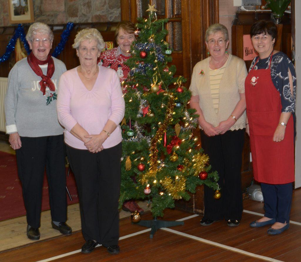 Highland Parish provides silver service