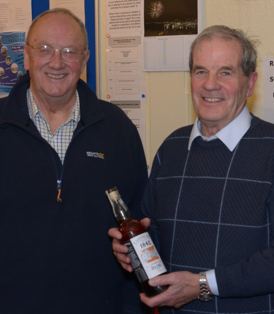 Favourite rum rewards sailor's service